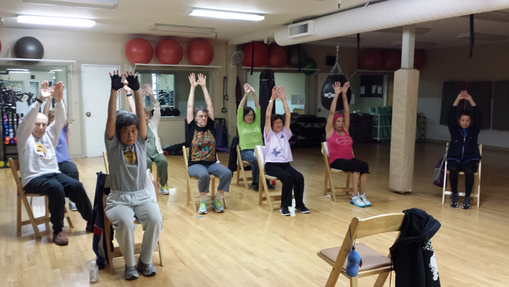 Reach-up-stretchercis
